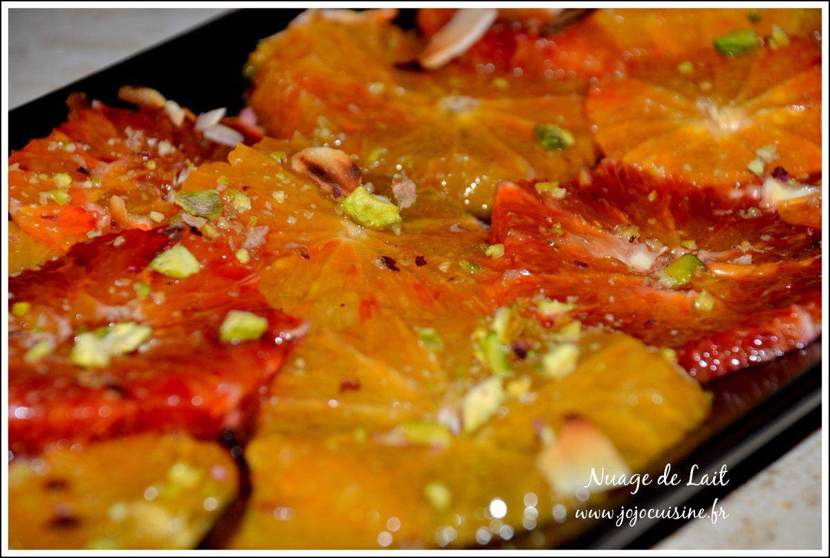 Salade aux 2 Oranges et Sirop Vanillé aux Epices