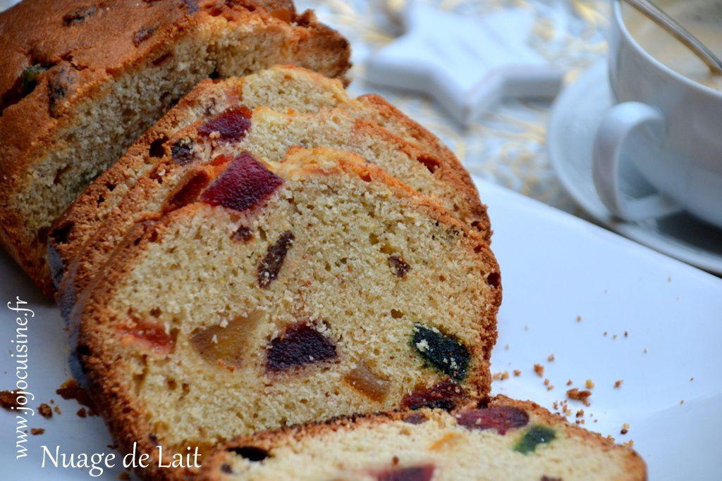 Cake &quot&#x3B;anglais&quot&#x3B; aux Fruits Confits de Pascale Weeks &quot&#x3B;le dessert était presque parfait&quot&#x3B;
