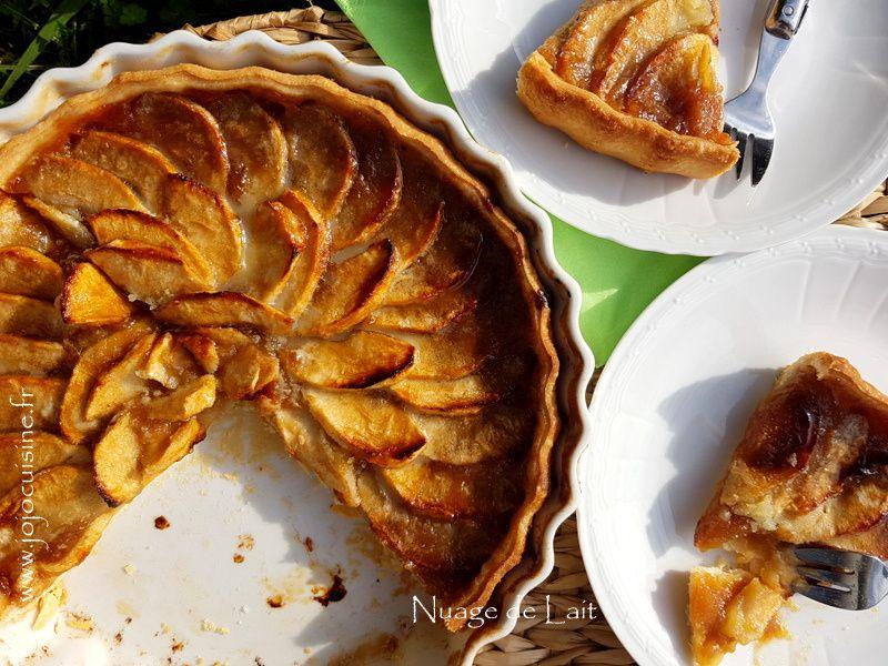 Tarte Flamande aux Pommes et Vergeoise