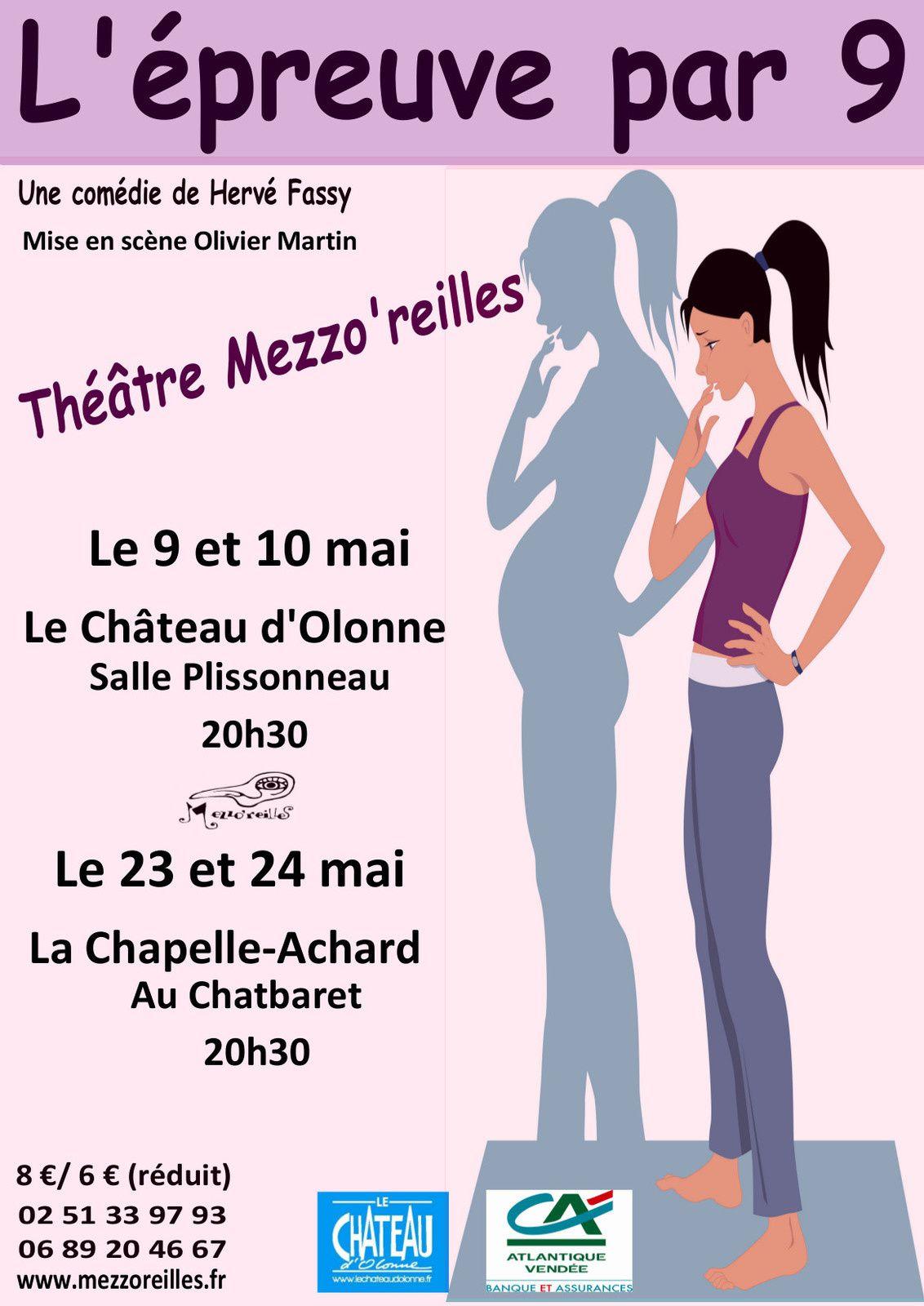 SORTIR EN VENDEE : rire et détente 23 et 24 mai une comédie...