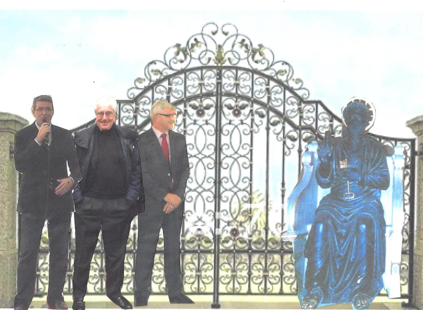 3 maires devant Saint Pierre : quelle leçon !