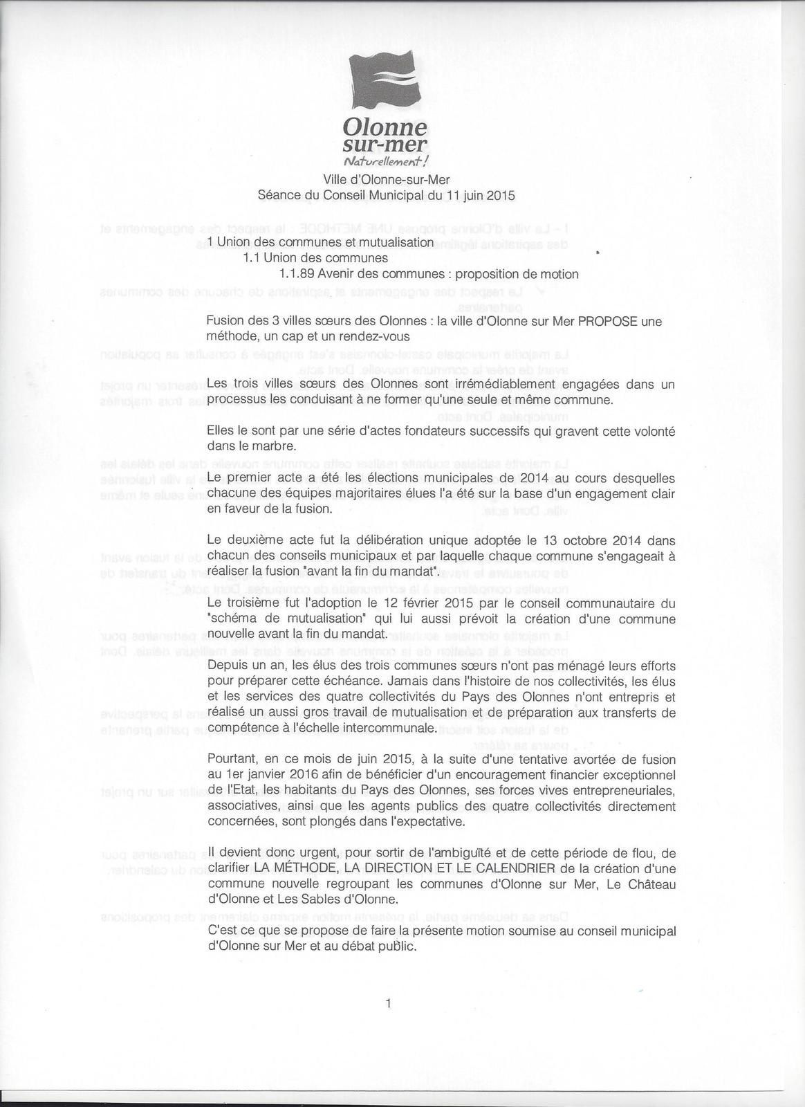 7f4dcbf919 FUSION PROJET OLONNE SUR MER LES SABLES POUR UNE COMMUNE NOUVELLE ...