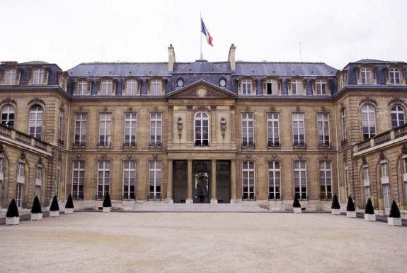 Symbole : le palais de l'Elysée