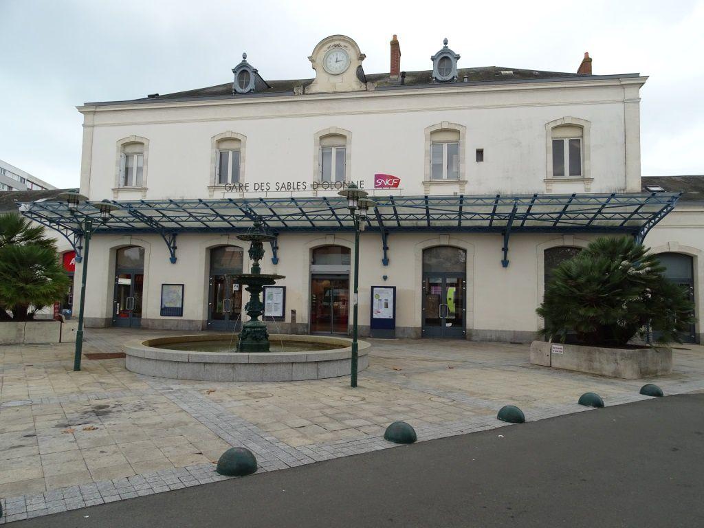 La gare des Sables d'Olonne