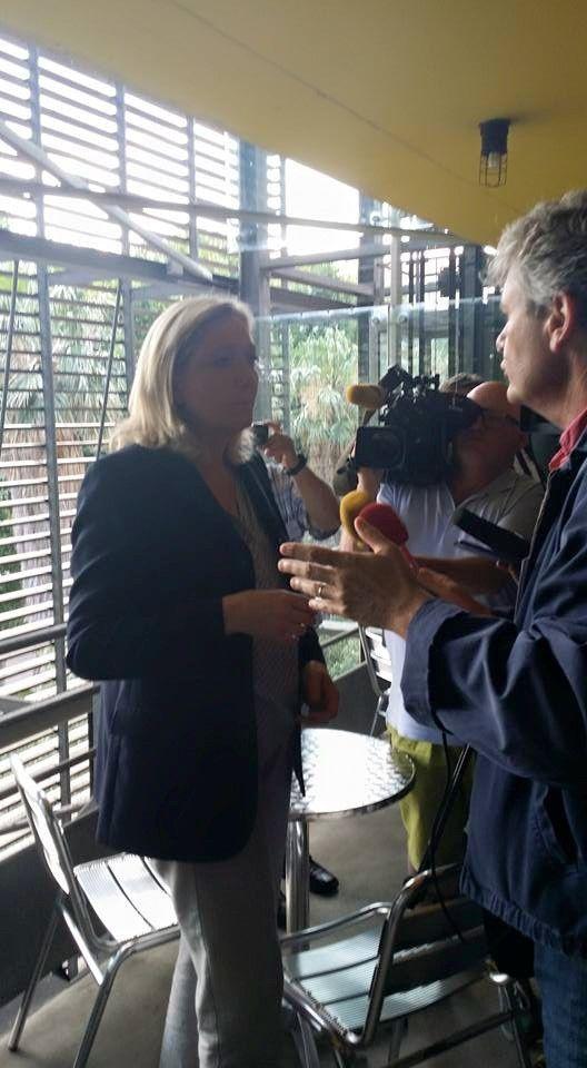 Interview/ Marine Le Pen: l'approfondissement de la relation stratégique avec la Russie, serait un avantage! Interview par Nicolas Caudeville
