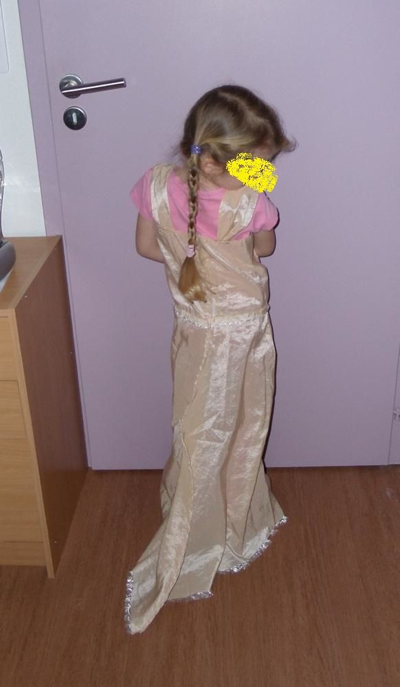 Première robe de princesse