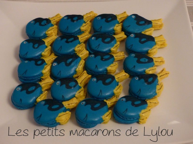 ...Macarons poissons...