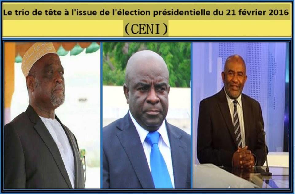 COMORES / ELECTIONS PRESIDENTIELLES : RESULTATS PROVISOIRES DE LA CENI