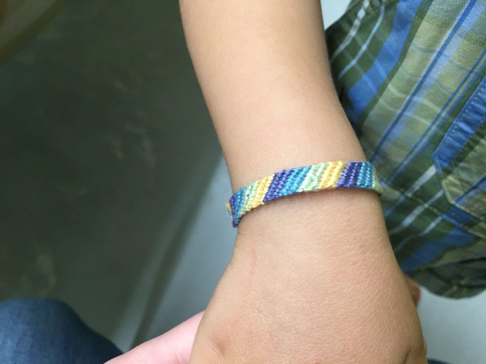 Créatelier bracelets brésiliens