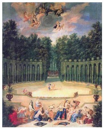 Versailles Intime: renaissance du Bosquet du Théâtre d'Eau