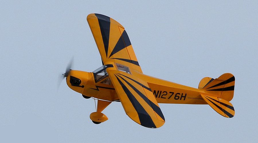 Clipped Wing Cub 250 - E-flite