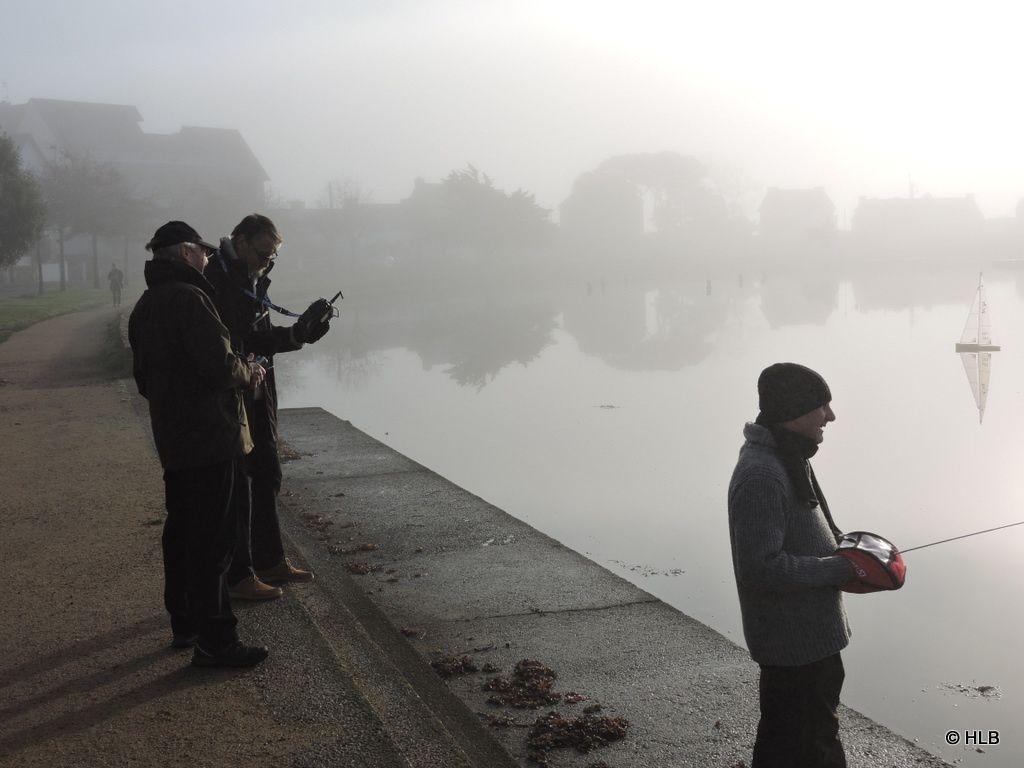 Navigation dans la brume