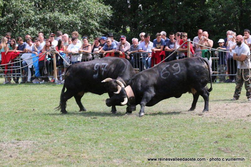 une journée de combats à Etroubles 31 juillet 2016 - 2ème partie