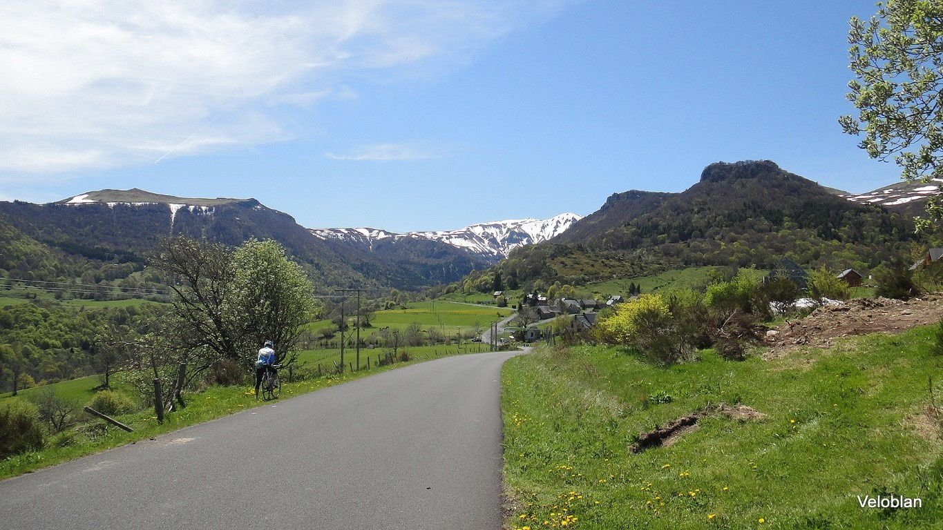 Reco Tour du Sancy des cyclos Montferrandais