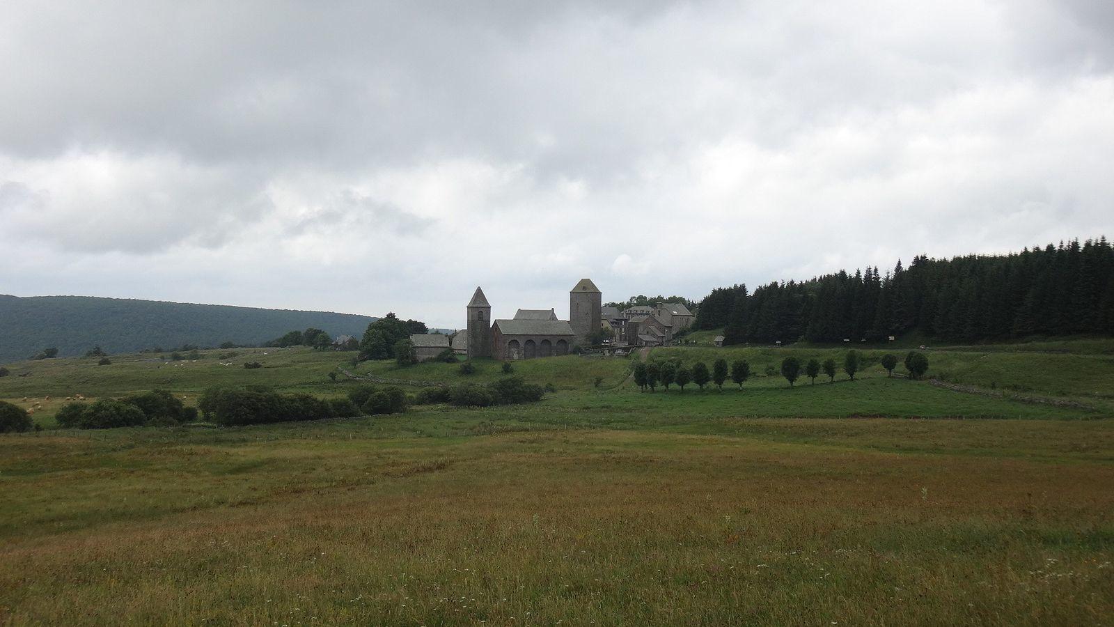 Village d'Aubrac.