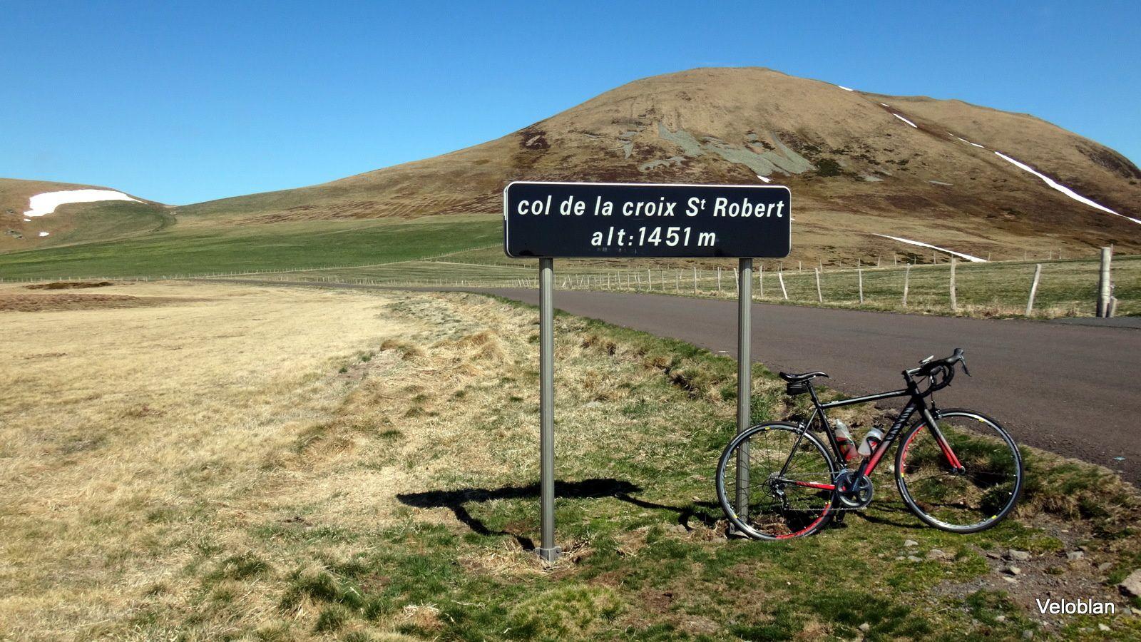 Croix Morand 1401m et Croix St Robert 1451m