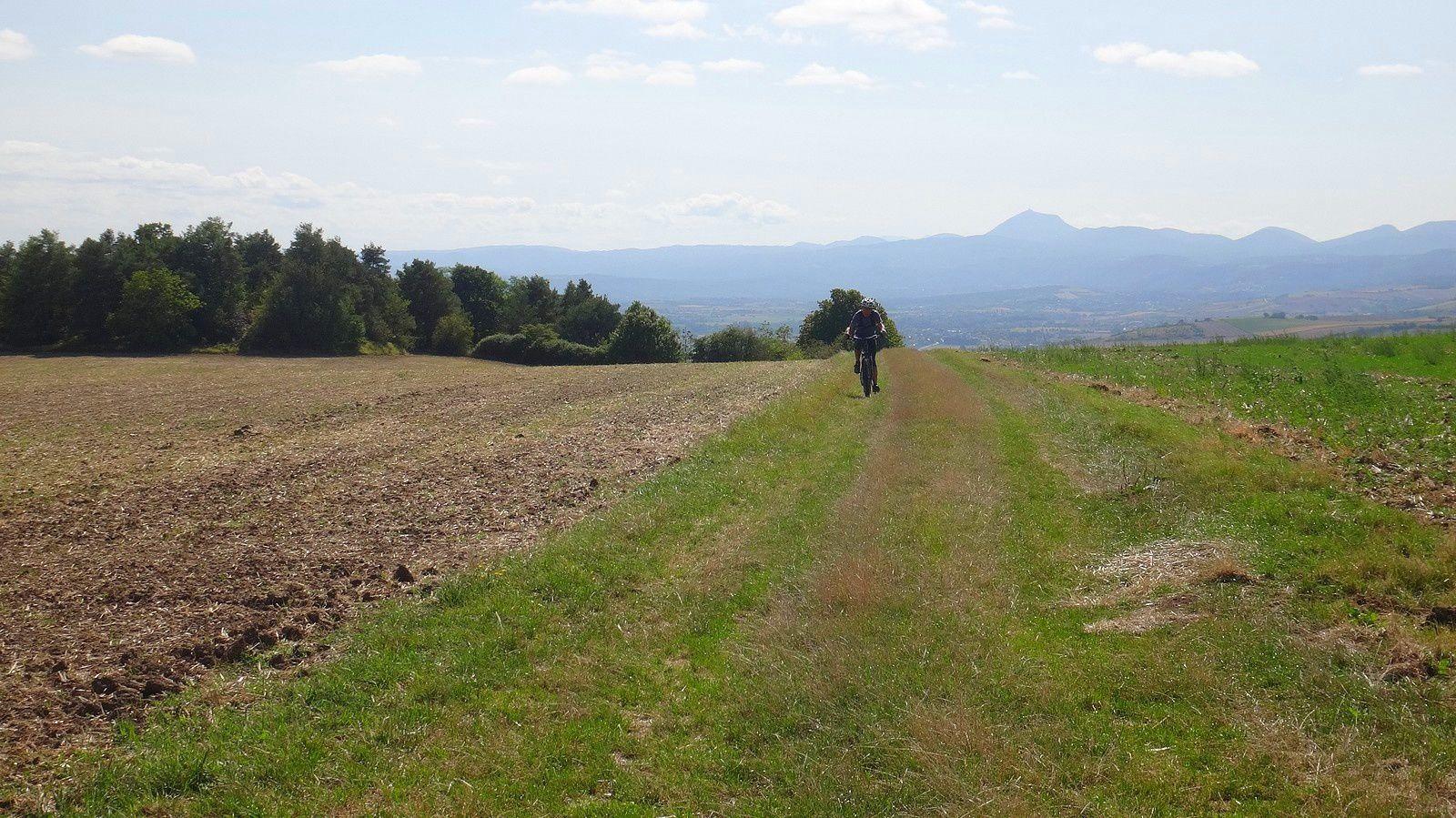 Un petit tour à VTT jusqu'à Artonne