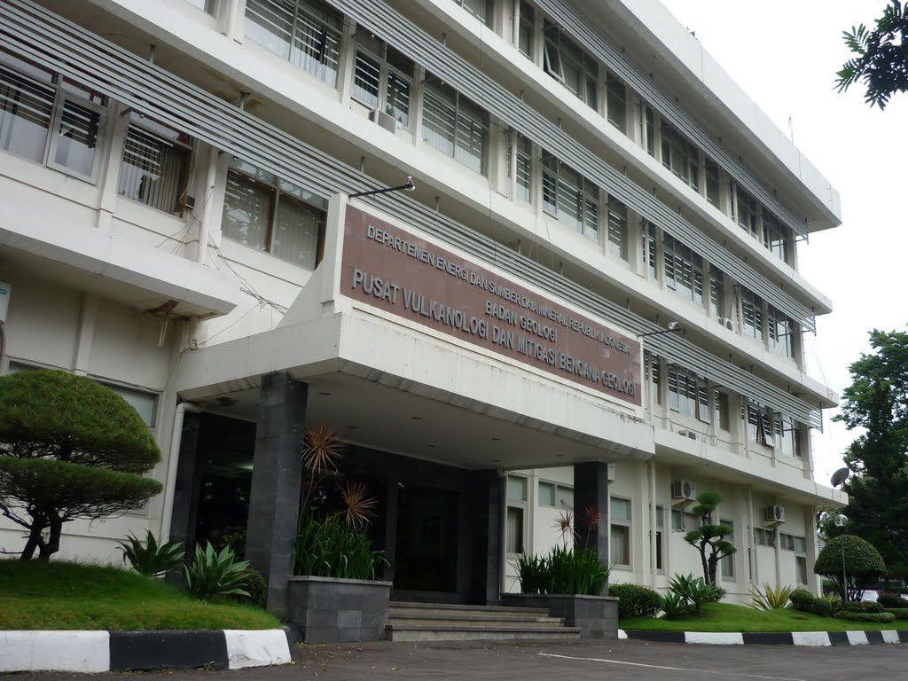 L'actuel siège du PVMBG à Bandung / Java - photo Panoramio.