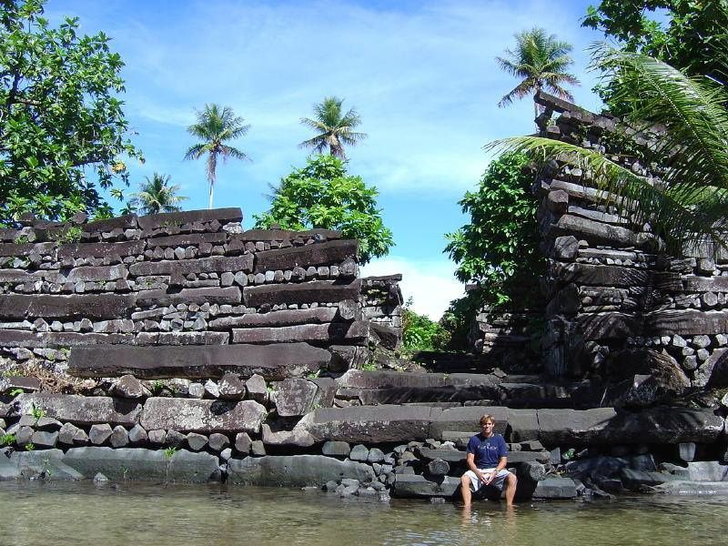 Nan Madol - megaliths of basalt - photo Brien Foerster / FB