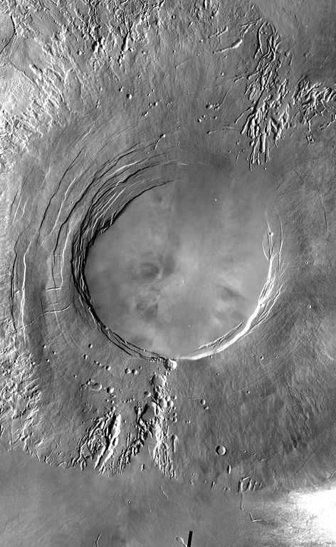 Arsia Mons - photo NASA - JPL-Caltech - Arizona State University