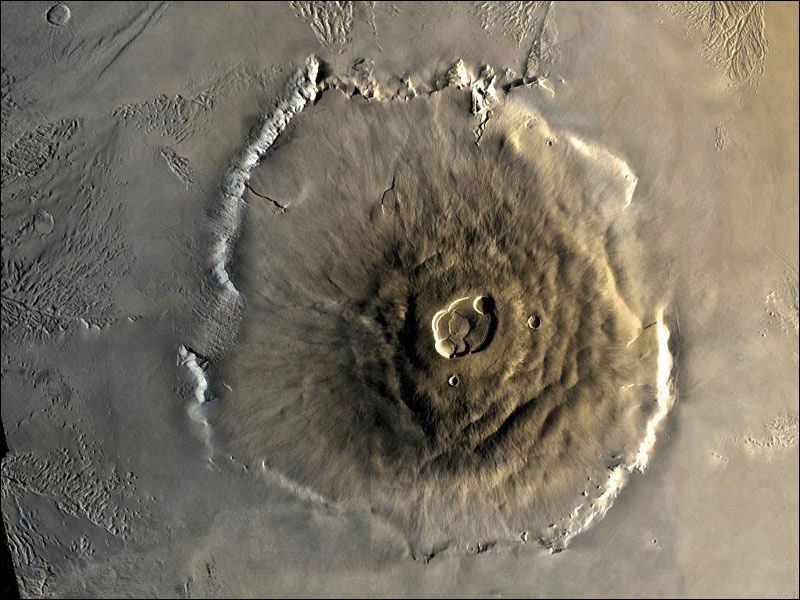 Olympus Mons - seen by Viking Orbiter I / 06/22/1978