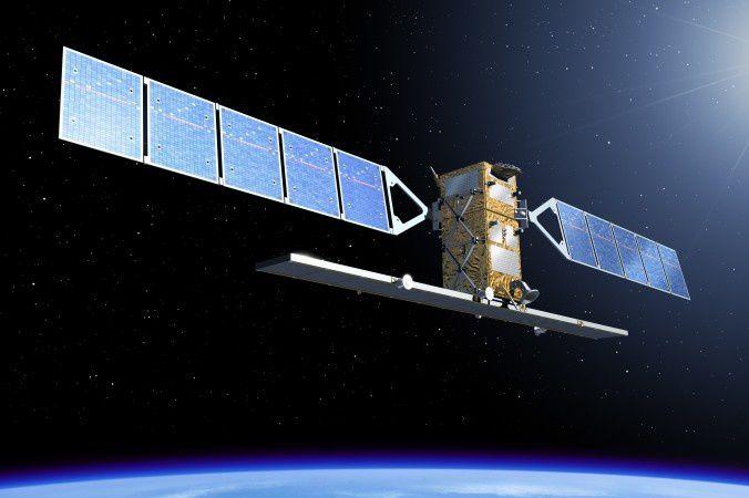 Le satellite Sentinel-1 A - image d'artiste - doc. ESA