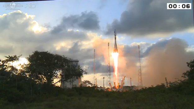 The launch of Sentinel-1 - photo ESA 03/04/2014