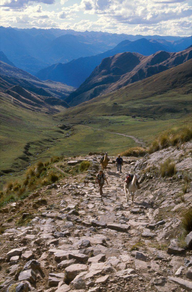 Qhapaq Ñan  ... quelque part sur le chemin de l'Inca - photo Unesco