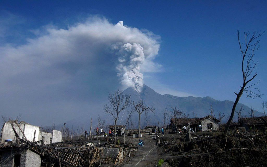 Merapi - the 22/07/2013 - photo archive EPA / Mohammad Ali