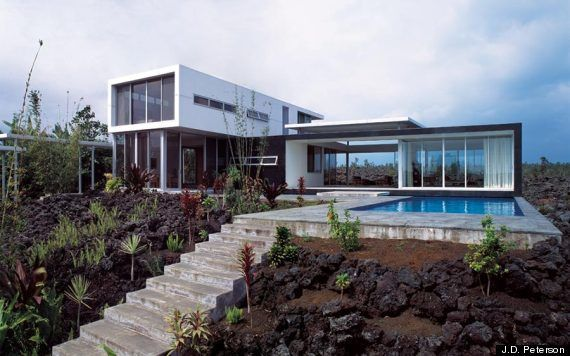 Lavaflow 7 / Hawaii - realization Craig Steely Architecture - photo JD Peterson