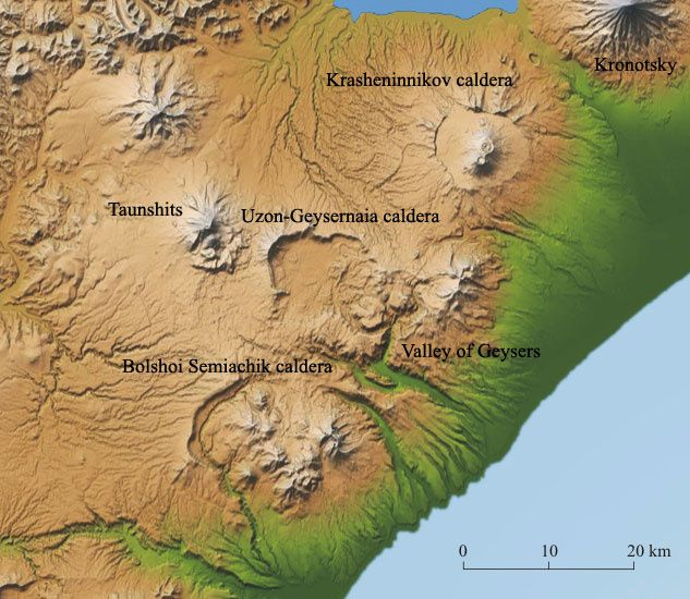 Volcanoes of the Kronotsky Reserve