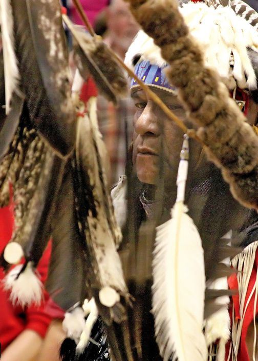 Powwow of the Cowlitz tribe - photo Holly Pederson / for The Chronicle