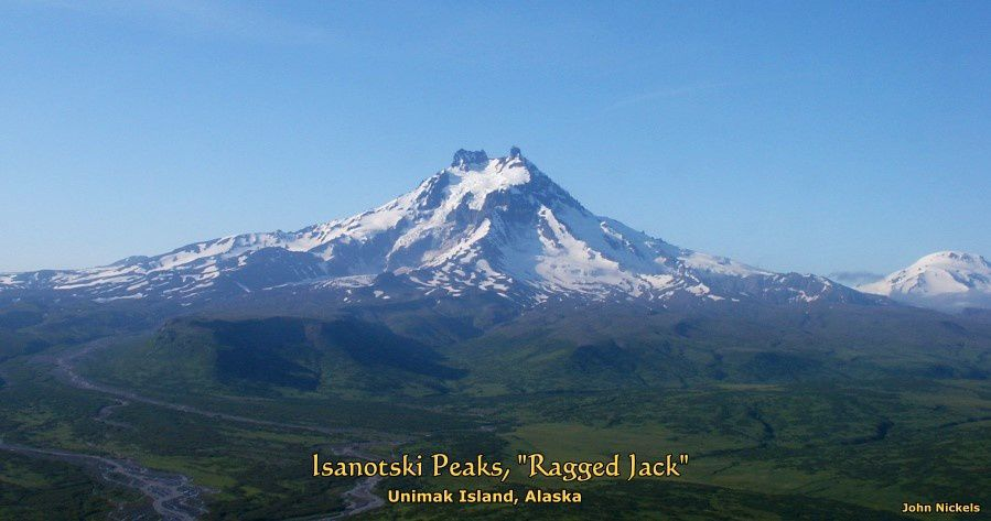 "L'Isanotski, ou ""Ragged Jack"" - photo John Nickels / Unimak.us"