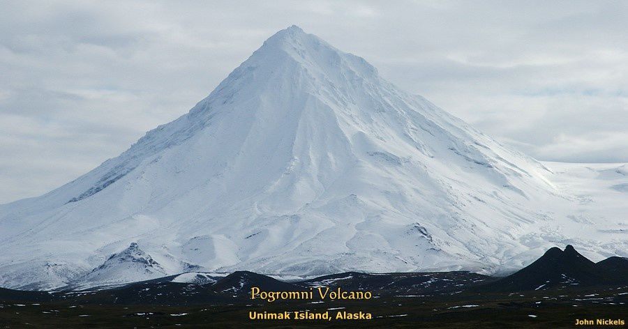 Le volcan Pogromni - photo John Nickels / Unimak.us