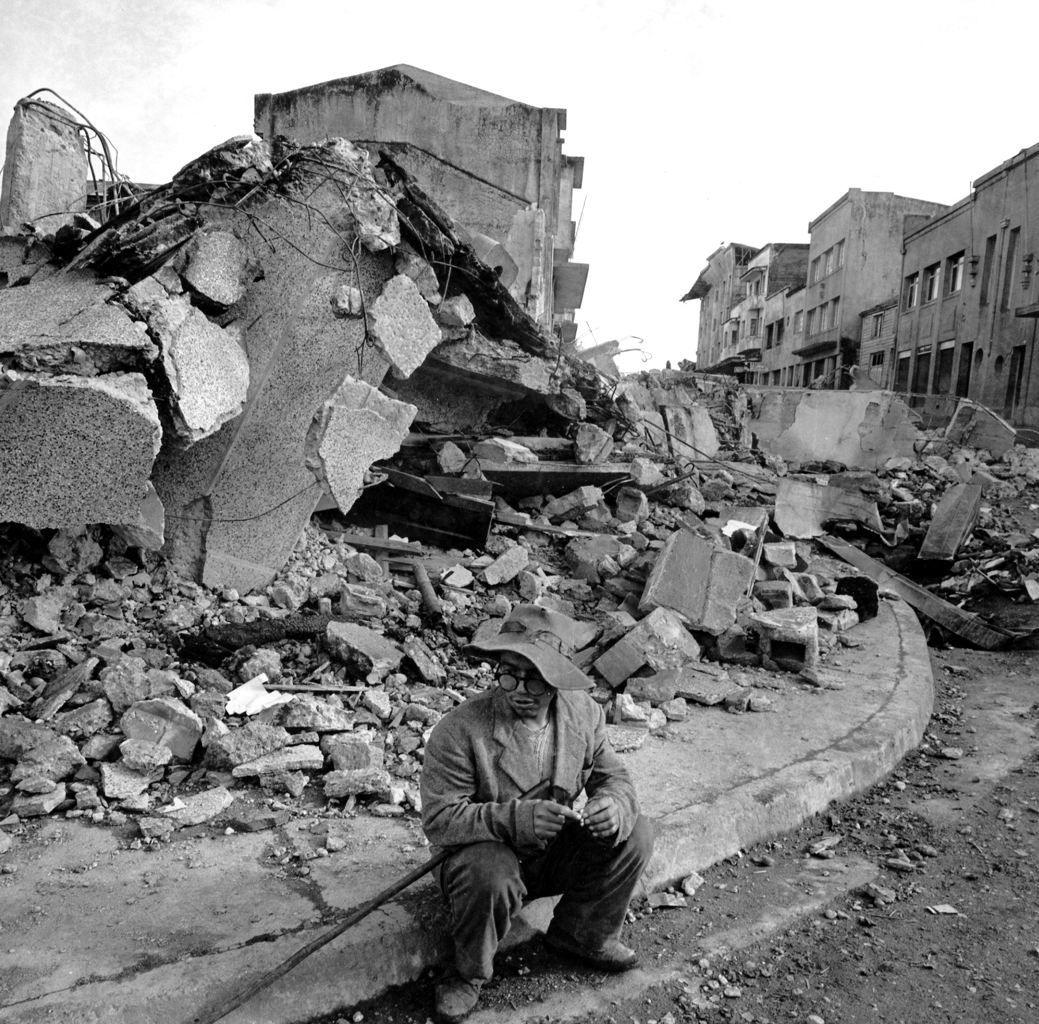 Valdivia earthquake in May 1960 - Doc. Press Association