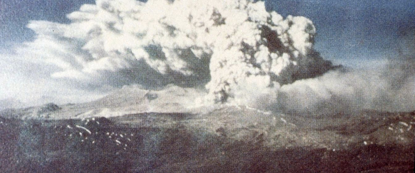 Cordon Caulle - 05/24/1960 eruption - photo Geophisical NOAA data center