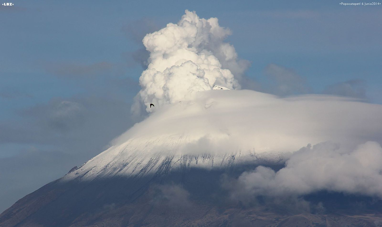 Le Popocatépetl - photo LBZ / 06.06.2014