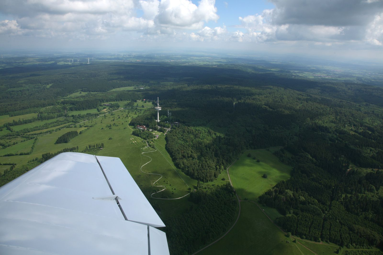 Vogelsberg - overview of Hoherodskopf, one of the peaks of the massif - photo © Bernard Duyck 05.2014