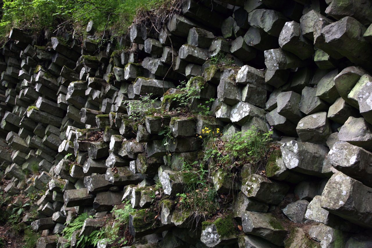 Gangolfsberg - the basalt organs - photo © Bernard Duyck 05.2014