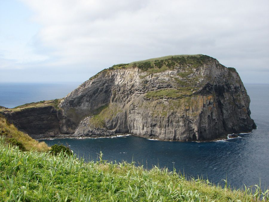 Faial / Açores - le Morro do Castelo Branco - photo Geoparque Açores