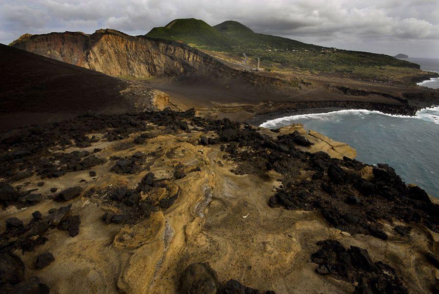 Faial / Açores - la péninsule de Capelo - photo Geoparque Açores