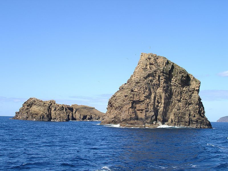 Pico / Açores - les Ilhéus da Madalena - photo Wikimedia commons