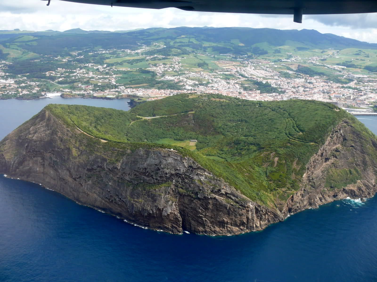 Terceira / Azores - Monte Brasil - photo audioanalogicodeportugal.