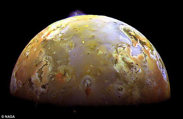 An eruption on Io - doc. NASA 05.2011