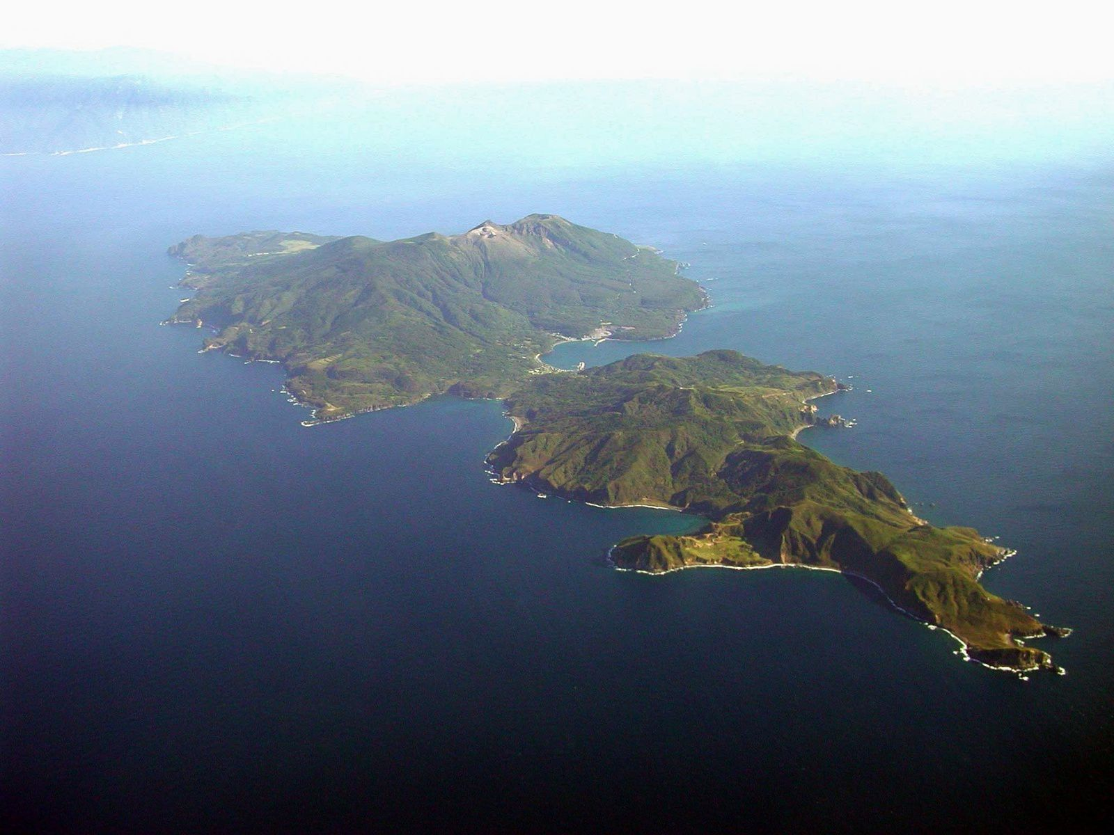 Kuchinoerabu-jima - photo Geological Survey of Japan