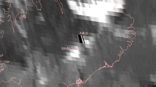Le point chaud de l'éruption vu par Meteosat-10 le 29.08.2014 - doc. Emmetsat