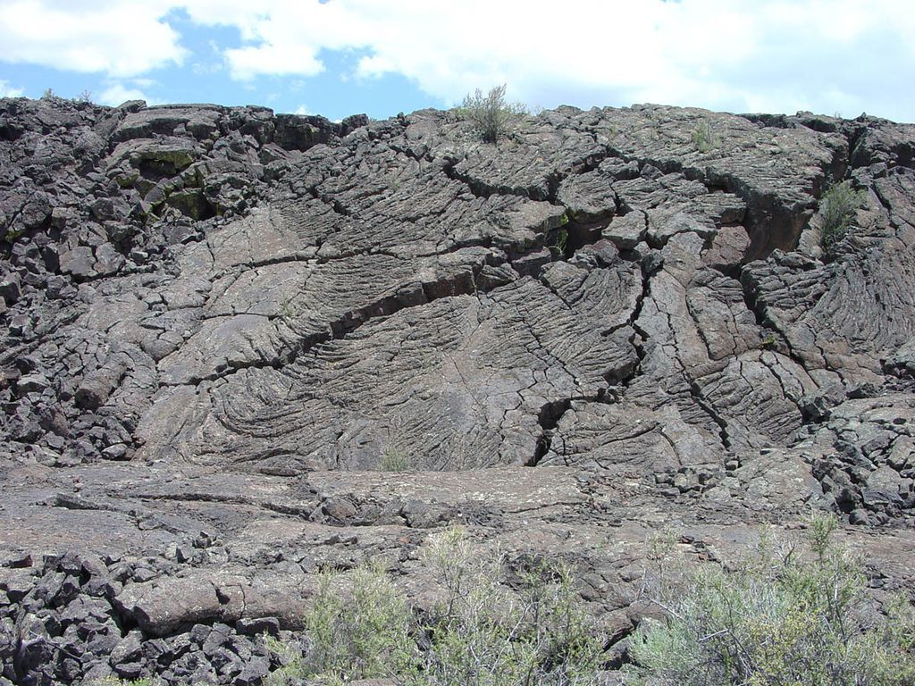 El Malpais - coulées pahoehoe - photo Markus Manske