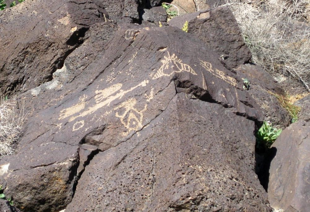 Petroglyphes - photo american southwest