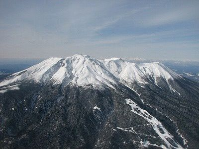 Le volcan Ontake - photo JMA