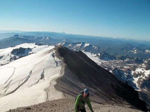 Disappointment Peak, seen from the climb to Glacier Peak - photo Summitpost